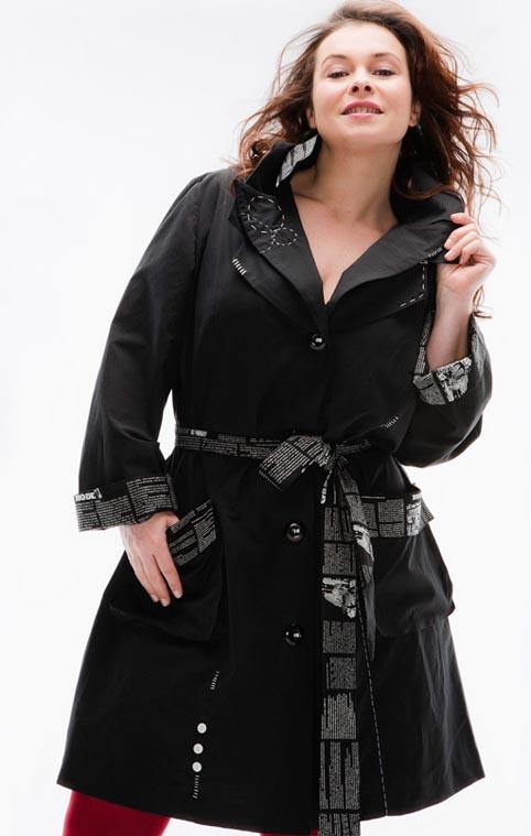 Одежда для полных женщин мода для