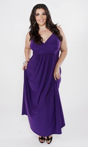 фасоны платьев для полных женщин фото.