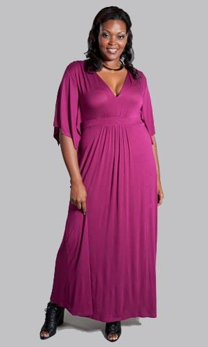 Вечерние и коктейльные платья для полных женщин от SWAK 2011-2012.