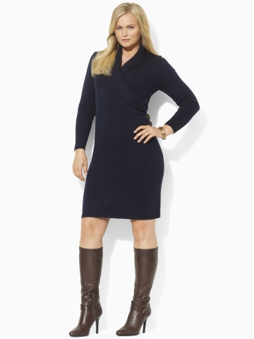 Ralf Lauren Plus Size Collection, Winter 2012