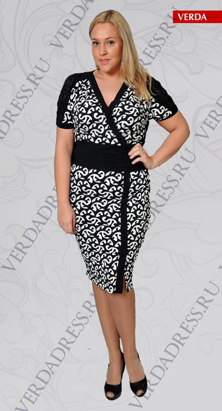 The Turkish Plus Size Dresses Verda, Spring 2012