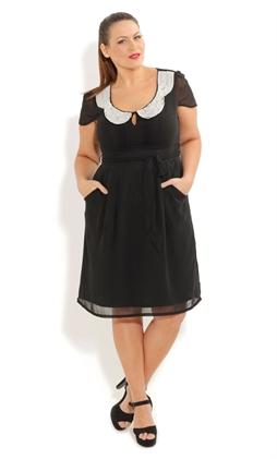 Платья для полных модниц от City Chic. Весна-лето 2012