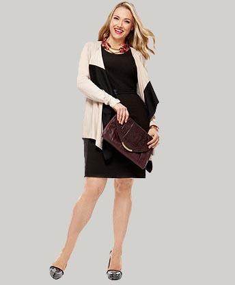 Весенняя коллекция одежды для полных девушек и женщин от Донны Каран 2012